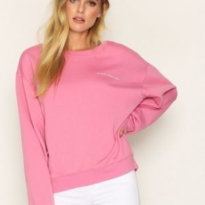 Topshop Je Suis Sweatshirt Svetari Pink