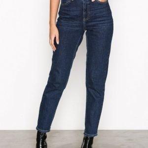 Topshop Mdt Mom Jeans L32 Straight Farkut Stone