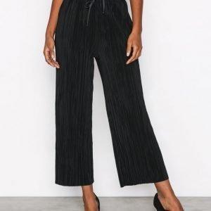 Topshop Mini Matte Ruffle Trouser Housut Black