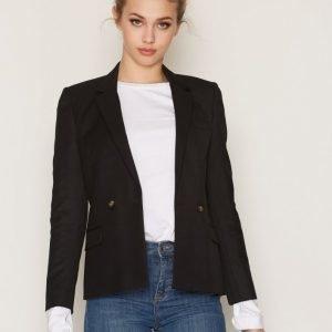 Topshop Tailored Suit Jacket Jakku Black