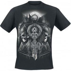 Toxic Angel Guardian Of Midgard T-paita