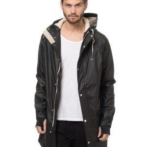Tretorn Evald Rain Coat 11 Jet Black