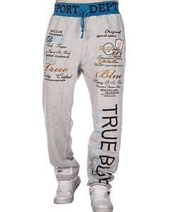 True Blue Jogger Grey/Blue