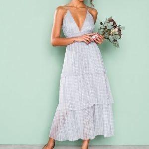 True Decadence Frill Sleeveless Dress Skater Mekko Grey