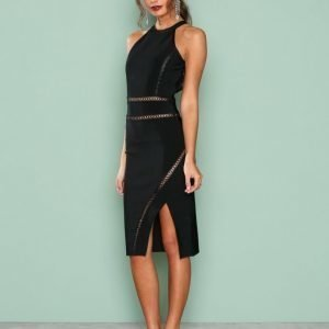 True Decadence Sleeveless Dress Kotelomekko Black