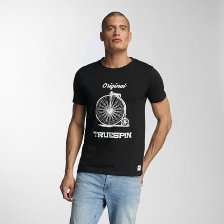 TrueSpin T-paita Musta