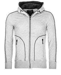 Tucker College Jacket Light Grey