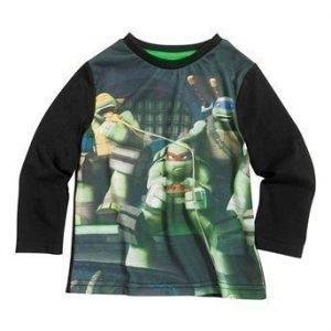 Turtles T-paita Musta