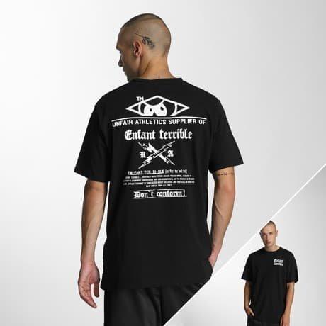UNFAIR ATHLETICS T-paita Musta