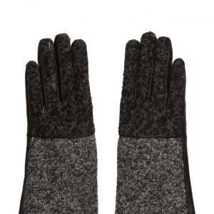 UNMADE Copenhagen Leather Glove With Loop Yarn hanskat