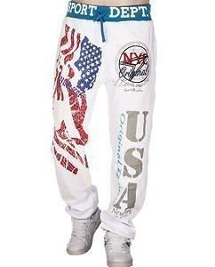 USA Jogger White/Blue