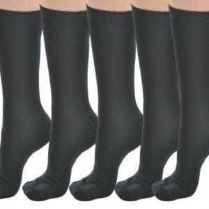 U.We.Ar Socks 5-Pack Puuvillasukat Musta