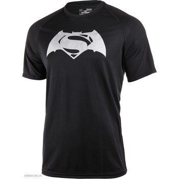 Under Armour Alter Ego Superman vs Batman Tech SS T 1273663-001 lyhythihainen t-paita
