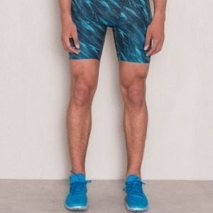 Under Armour Armour HG Printed Compression Shorts Meridian Blue