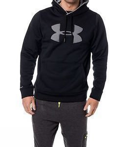 Under Armour Big Logo Hoodie Solid Black