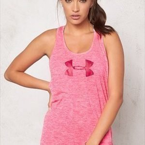 Under Armour Branded Tech Tank 962 Harmony Red