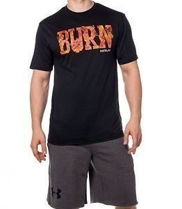 Under Armour Burn Run Graphic Tee Black