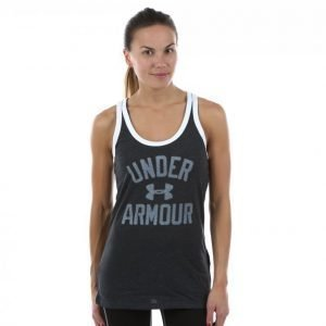 Under Armour Favorite Graphic Tank Treenitoppi Musta