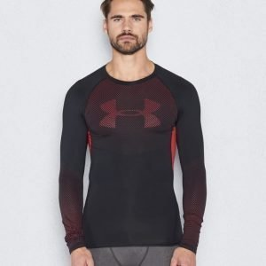Under Armour HG Armour Novelty LS Tee 002 Back/Red