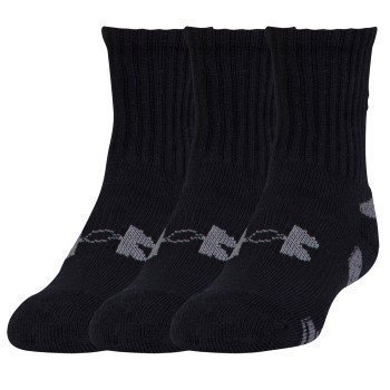 Under Armour HeatGear Crew Sock 3 pakkaus