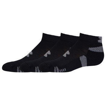 Under Armour HeatGear Low Cut Sock 3 pakkaus