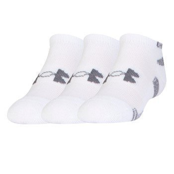 Under Armour HeatGear No Show Sock 3 pakkaus