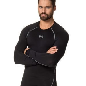 Under Armour Heatgear Armour Compression L/S Tee 001 Black/Steel