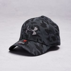 Under Armour Men's UA Print Blitzing Cap 002 Black