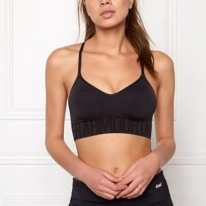 Under Armour Seamless Sports Bra Black