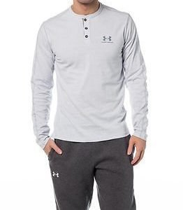 Under Armour Sportwear Henley Air Force Gray Heather