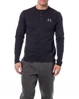 Under Armour Sportwear Henley Black