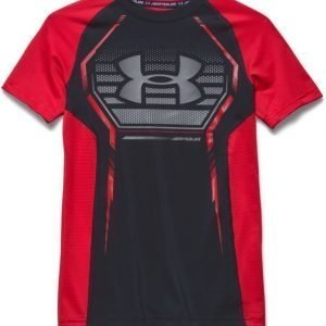 Under Armour T-paita Armour Up Black/Blue Jet Red