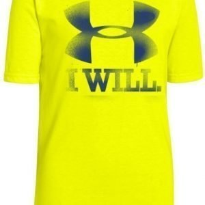 Under Armour T-paita Contender Yellow