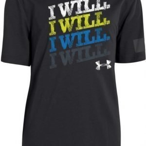 Under Armour T-paita I Will Chalk Black