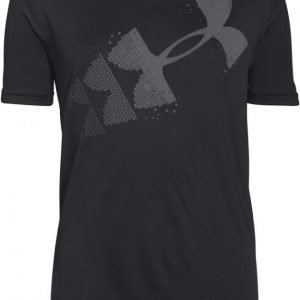 Under Armour T-paita Rising Pixelated logo Black Black