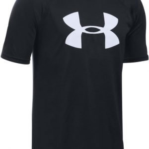 Under Armour T-paita UA Tech Big Logo Black Black