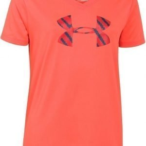 Under Armour Toppi UA Big logo tech Afterburn Pink