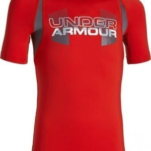 Under Armour Treeni-T-paita Up Digi Ultra Blue Red