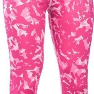 Under Armour Treenitrikoot Printed Armour Capri Pink