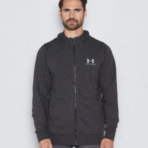 Under Armour Triblend Full Zip Hoodie 005 Asphalt Heather
