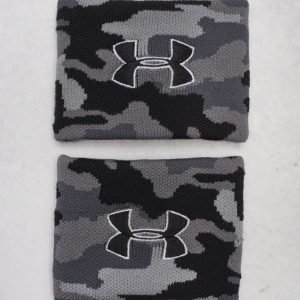 Under Armour UA Jacquard Wristbands 001 Black