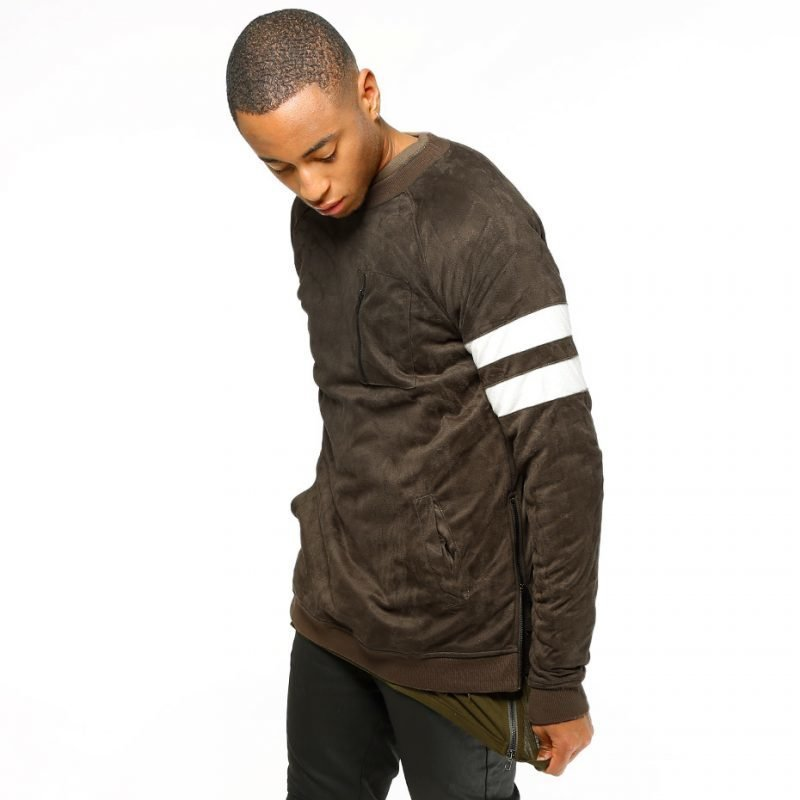 Underated Raglan Sleeve Suede -college