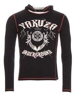 Underground Hooded Shirt Black