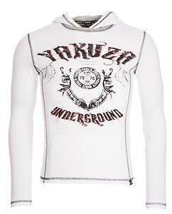 Underground Hooded Shirt White