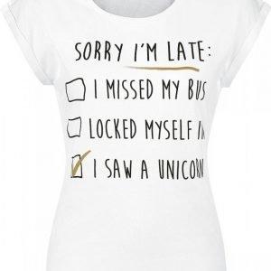 Unicorn I Saw A Unicorn Naisten T-paita