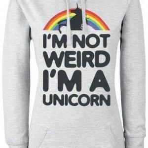 Unicorn I'm A Little Unicorn Naisten Huppari
