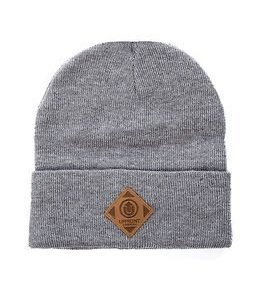 Upfront OFFICIAL Upfront Fold Beanie Light Grey