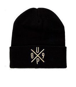 Upfront UP09 Beanie Black/Gold
