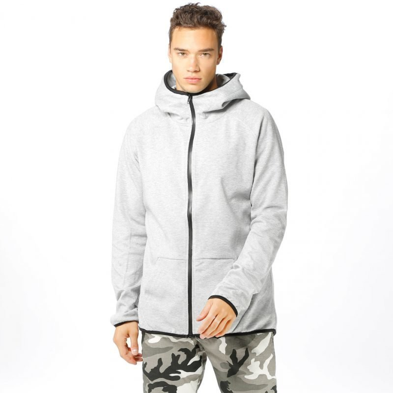 Urban Classics Athletic Interlock -zip huppari