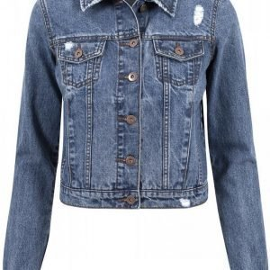 Urban Classics Ladies Denim Jacket Naisten Farkkutakki